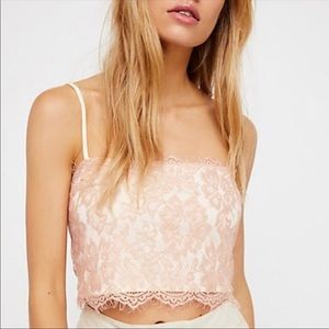 NWT Free people lace bralette xs/s